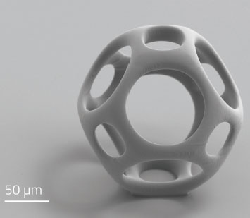 Third dimension for cell cultures: high-precision 3D printing enables biocompatible microstructures